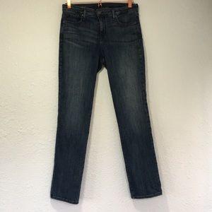 NYDJ 10 Sheri slim jeans lift x tuck straight leg